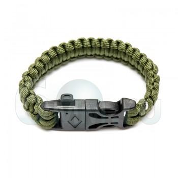 Браслет на руку Survival Paracord (Olive)