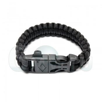 Браслет на руку Survival Paracord (Black)