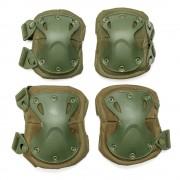 Наколенники + налокотники X-SWAT (Olive) с замком