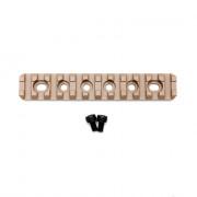 Планка Weawer на цевье 120mm (TAN)