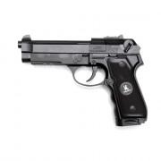 МАКЕТ страйкбольного пистолета (HFC) Beretta M9 CO2 металл 6 шаров барабан (HG-305ZB)