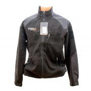 Куртка 762 SoftShell Fleece (L) Black