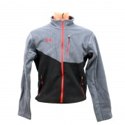 Куртка Under Armour SoftShell Fleece (L) Black/Grey