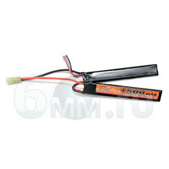 Аккумулятор VB 7.4V 1500mah CQB (Li-Po) 6.3*20*120mm