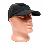 Кепка Baseball Cap Tactical-PRO (Black) с липучкой