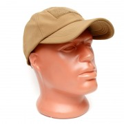 Кепка Baseball Cap Tactical-PRO (TAN/Coyote) с липучкой