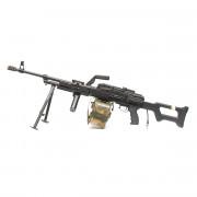 Страйкбольный пулемет (A&K) ПКМ ВВД + баллон + чехол