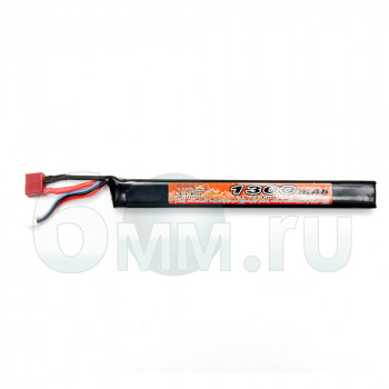 Аккумулятор VB 7.4V 1300mah AK-type (Li-Po) 15*18*171mm Т-разъем
