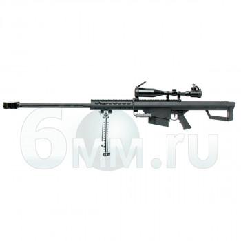Страйкбольная винтовка (SW) M82A1 Barrett металл AEG Black