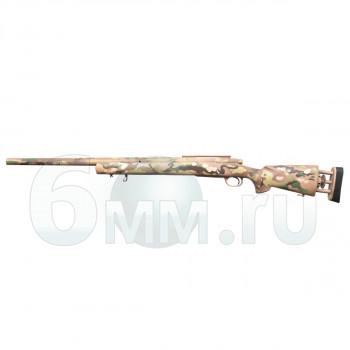 Страйкбольная винтовка (AIRSOFTBAZA) Cyma CM702 M24 MULTICAM (Spring 170м/с)