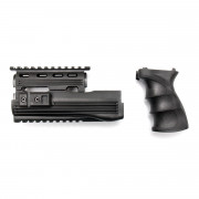 Цевье (Cyma) 74 RIS + рукоятка пистолетная C49