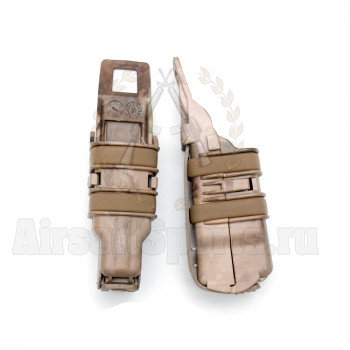 Подсумок для магазина на пистолет FastMag Molle (A-Tacs) 2шт