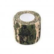 Лента маскировочная (5смХ4.5м) Digital Woodland