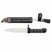 Нож тренировочный 6х5 штык-нож на АК74 (мягкий)