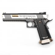 Страйкбольный пистолет (WE) Hi-Capa 6.0 I-REX металл Silver/Gold (GGB-0398TMA-2TGD)