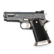 Страйкбольный пистолет (WE) Hi-Capa 3.8 VELOCIRAPTOR металл Black (GGB-0392TM-A)