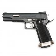 Страйкбольный пистолет (WE) Hi-Capa 5.1 T-REX металл Black (GGB-0394TM-A)