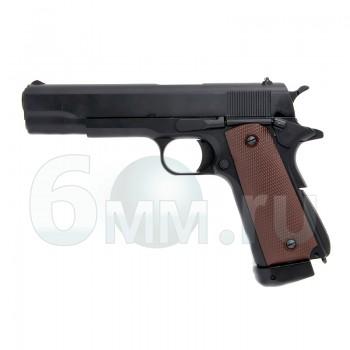 Страйкбольный пистолет (KJW) Colt 1911 металл CO2 (GC-0305)