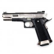 Страйкбольный пистолет (WE) Hi-Capa 5.1 T-REX  металл Silver (GGB-0394TS-A)