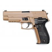 Страйкбольный пистолет (WE) P226 Rail MK-25 металл TAN (F226) (GGB-0364TT)