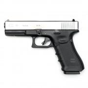 Страйкбольный пистолет (WE) GLOCK 17 Gen.4 Silver (GGB-0354TMB-S)
