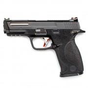 Страйкбольный пистолет (WE) M&P Big Bird Custom Black/Black/Silver ver.2 (GGB-0383TMH-BS)