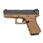 Страйкбольный пистолет (WE) GLOCK 23С Semi/Auto TAN (GGB-0361TT-B)