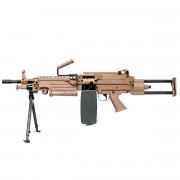 Страйкбольный пулемет (A&K) M249 Para TAN
