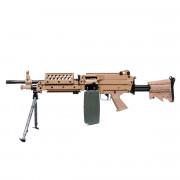 Страйкбольный пулемет (A&K) MK 46 TAN