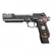Страйкбольный пистолет (WE) M9 BIOHAZARD SAMURAI STARS LONG SEMI-AUTO WOOD GRI (GGB-0358TM-A(W))