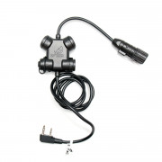 Кнопка PTT - SILYNX CLARUS для рации (Kenwood-BaoFeng) Z130
