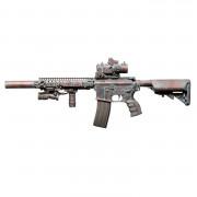 Страйкбольный автомат (BullGear Custom) M4 BATTLE WORN BRONZE