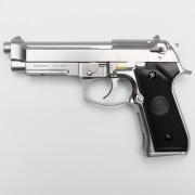 Страйкбольный пистолет (WE) M92 NEW Silver (GGB-0378TS)
