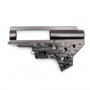 Гирбокс (RetroArms) 9мм алюмин. CNC ver.2  (с быстросъемн. пружиной) QSC 6676