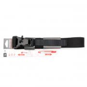 Ремень брючный (ДОЛГ) Флекс 100 см (Black) M