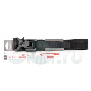 Ремень брючный (ДОЛГ) Флекс 110 см (Black) L