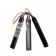 Аккумулятор PowerLabs 11.1V 1200mAh CQB-type (Li-PoRT) 130x21x7