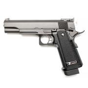 Страйкбольный пистолет (WE) Hi-Capa 5.1 R  металл Black