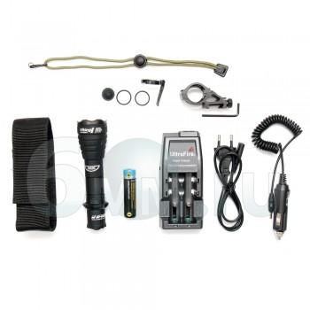 Фонарь (ArmyTek) VIKING Pro v3 2300Lm White комплект (З/У, аккумулятор, крепление)