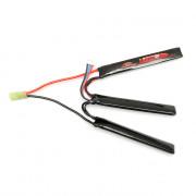 Аккумулятор Storm Power 11.1V 1450mah CQB (Li-Po) 30C 3*(116*16*7) трехлепестковый