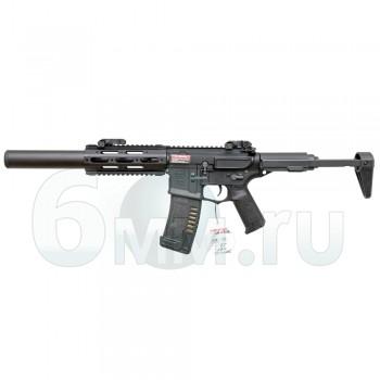 Страйкбольный автомат (BullGear Custom) Amoeba AM-014-BK (150м/с)
