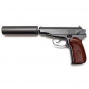 Страйкбольный пистолет (Galaxy) PM Makarov с глуш. G-29A Spring