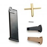 Магазин на пистолет (WE) for WE Glock 17/18С/19/23С/26С/34/35 Кит CO2 G-52