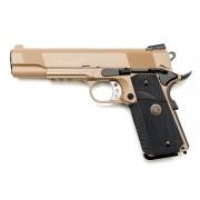 Страйкбольный пистолет (WE) COLT M.E.U. металл TAN
