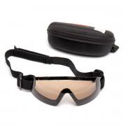 Очки защитные (FMA) Low profile (Brown)