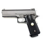 Страйкбольный пистолет (WE) Hi-Capa 4,3 металл Black