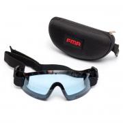 Очки защитные (FMA) Low profile (Blue)
