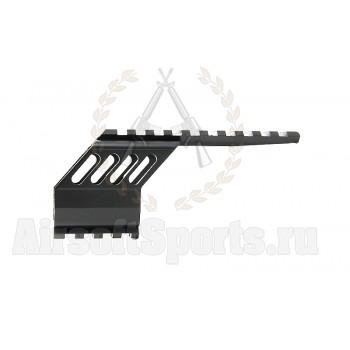 Планка RIS на пистолет для Glock (2 рельсы)
