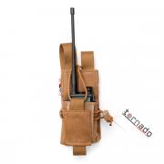 Подсумок (TORNADO airsoft) для рации открытого типа (Coyote)