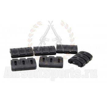 Накладки на RIS New Rail Covers (Black) 6шт